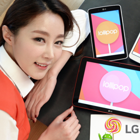 """LG G Pads are getting Lollipop"""
