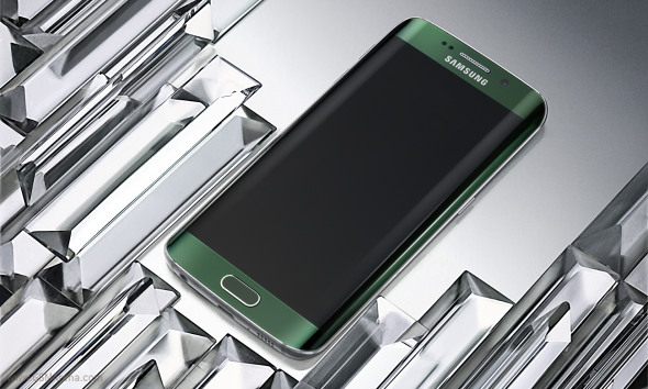 """""""Samsung Galaxy S6 Edge official image"""""""