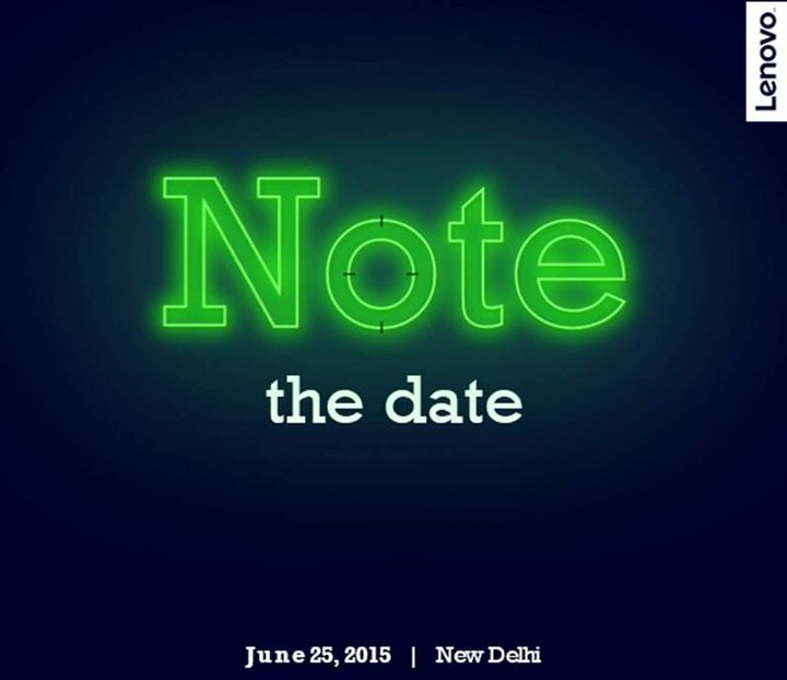 """Lenovo K3 Note launch press invite"""