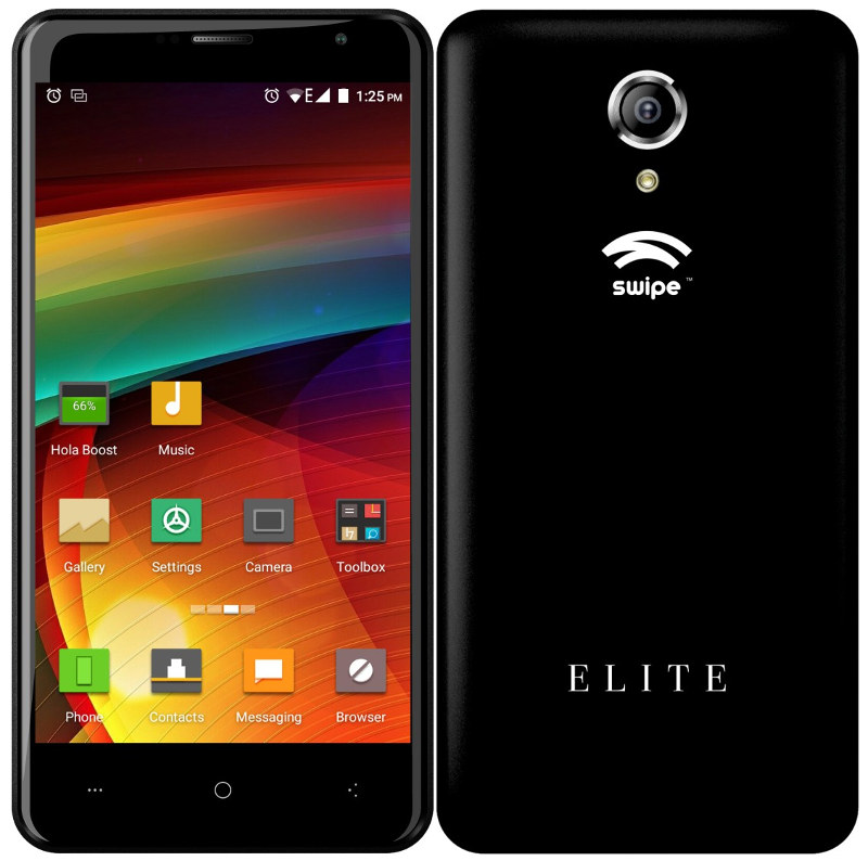 "Swipe ELITE Smartphone with 5"" HD display, 2GB RAM, 16GB ROM, 13MP ..."